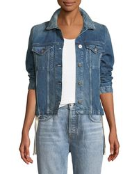 3x1 - Wj Hollow Denim Jacket - Lyst