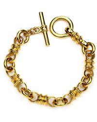 Ben-Amun Small Chain-link Bracelet - Metallic