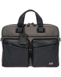 Bric's Monza Briefcase (black/black) Bags