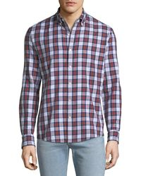 Michael Kors - Men's Curt Double-face Slim Sport Shirt - Lyst
