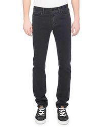 Berluti - Washed Denim Straight-leg Jeans - Lyst