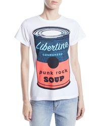 Libertine - Punk Rock Soup Photo-print Jersey Tee - Lyst