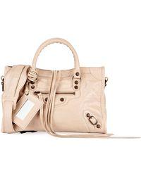 336e2e9e886 Balenciaga - Giant 12 Brass City Small Aj Satchel Bag - Lyst