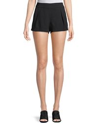 Parker - Alden Mid-rise Pleated Shorts - Lyst