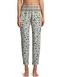 Xirena - Paige Graphic-print Lounge Pants - Lyst