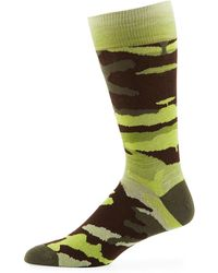 Neiman Marcus - Men's Space-dyed Camo Socks - Lyst
