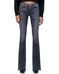 Black Orchid - Mia Mid Rise Skinny Flare Jeans - Lyst