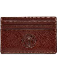 Ghurka - Slim Leather Card Case - Lyst