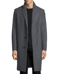 Theory - Bower Wool-blend Top Coat - Lyst