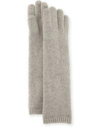 Portolano - Long Knit Glove - Lyst