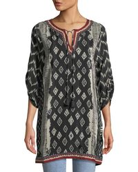 Tolani - Journey Ikat-print Tunic Dress - Lyst