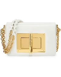 Tom Ford - Natalia Small Chain Leather Cross-Body Bag - Lyst