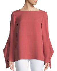 Lafayette 148 New York - Catharina Double-georgette Blouse - Lyst