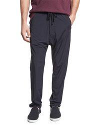 Vince | Athletic Drop-rise Stretch-nylon Pants | Lyst
