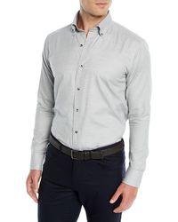 Peter Millar - Men's Hamra Melange Cotton/cashmere Sport Shirt - Lyst
