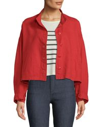 The Great - The Captain Cropped Button-front Jacket - Lyst