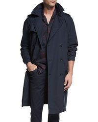 Vince - Classic Double-breasted Trench Coat - Lyst