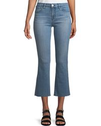 J Brand - Selena Mid-rise Crop Boot Jeans - Lyst