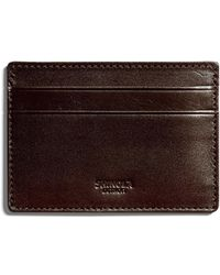 Shinola - Men's Six-pocket Leather Card Case - Lyst