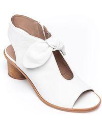 Bernardo - Luna Fabric Knotted Sandals - Lyst