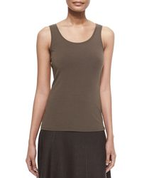NIC+ZOE - Perfect Jersey Scoop-neck Tank - Lyst