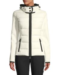 Moncler Grenoble - Down-filled & Knit Combo Jacket - Lyst