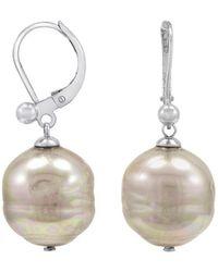 Majorica - Baroque Pearl Earrings - Lyst