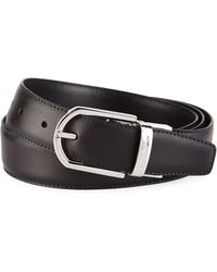 c366a889 Men's Reversible Leather Belt Brown