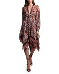 Etro - Leopard-print Dress - Lyst