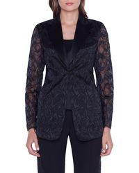 Akris - Amedea Market Embroidered Jacket - Lyst