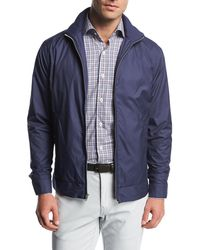 fd963f49831d Lyst - Peter Millar Norfolk Lightweight Quilted Jacket in Blue for Men