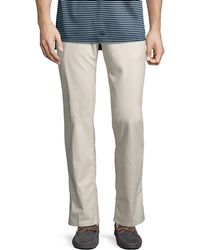 Peter Millar - Crown Soft-touch Twill Pants - Lyst