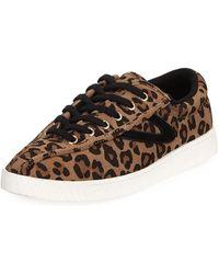 Tretorn - Ny Lite Leopard-print Sneakers - Lyst