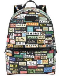 Bally - Men's Gattes Logo-print Backpack - Lyst