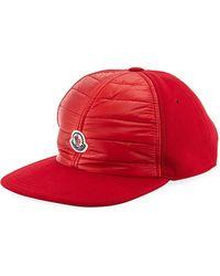 1f5db321eb3 Lyst - Moncler Men s Berretto Baseball Cap in Black for Men