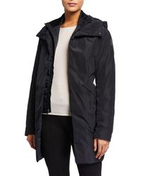 Under Armour Unstoppable Hooded Down Parka Coat - Black