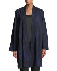 Eileen Fisher - Reflections Jacquard Jacket - Lyst