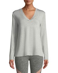 Beyond Yoga - Time To Split-back Pullover Sweatshirt - Lyst