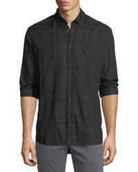 Billy Reid - Wallace Plaid Sport Shirt - Lyst