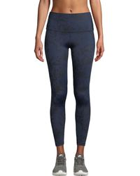 Beyond Yoga - Compression Luxe Floral High-waist Midi Leggings - Lyst