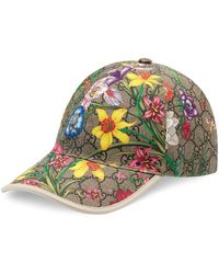 Gucci GG Supreme Flora Baseball Hat - Multicolour