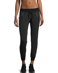 Blanc and Noir - Tech Zip-pocket Jogger Pants - Lyst