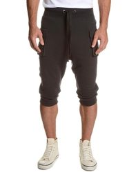 2xist - Camo-print Cargo Cropped Pants - Lyst