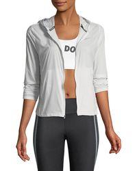 Nike Shield Convertible Running Jacket - Gray