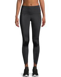 Beyond Yoga - Cruz Scalloped High-waist Midi Leggings - Lyst