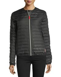 Hunter | Quilted Puffer Zip-front Thermolite Jacket | Lyst