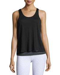 Koral Activewear - Shift Split-back Sleeveless Top - Lyst