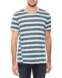 Joe's Jeans - Men's Engineered Stripe T-shirt - Lyst