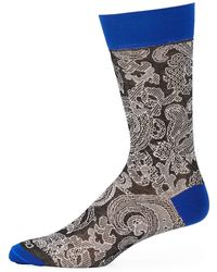 Etro - Calza Corta Cotton Socks - Lyst