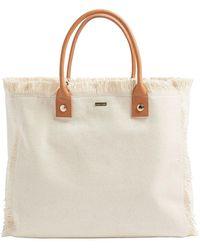 Melissa Odabash Cap Ferrat Tote Bag - Natural